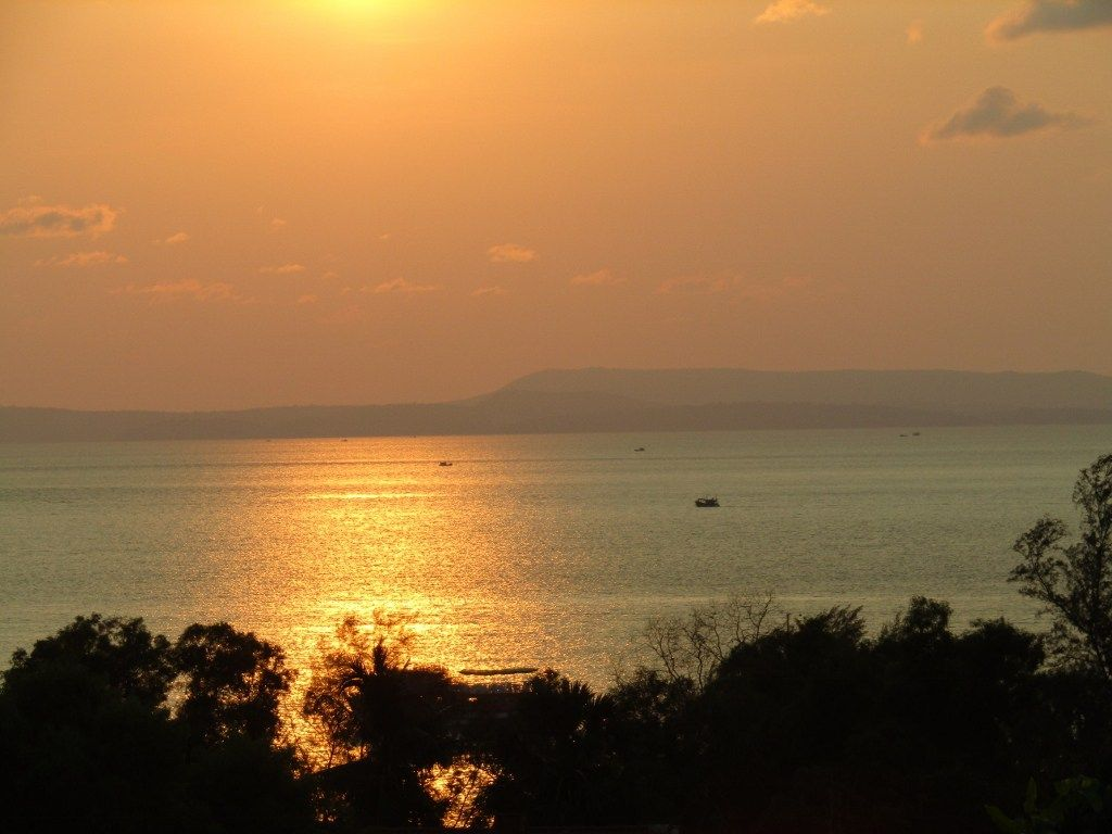 Sunset At The Mealy Chanda Outdoor Sunset Cambodia