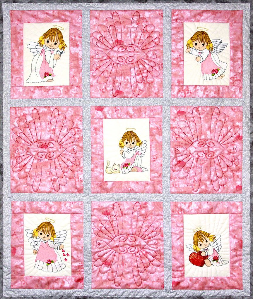 SWEETHEART QUILT COLLECTION MACHINE EMBROIDERY DESIGNS ON CD OR USB