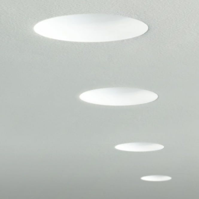 Astro Lights Trimless Round Adjustable Recessed Ceiling Downlight