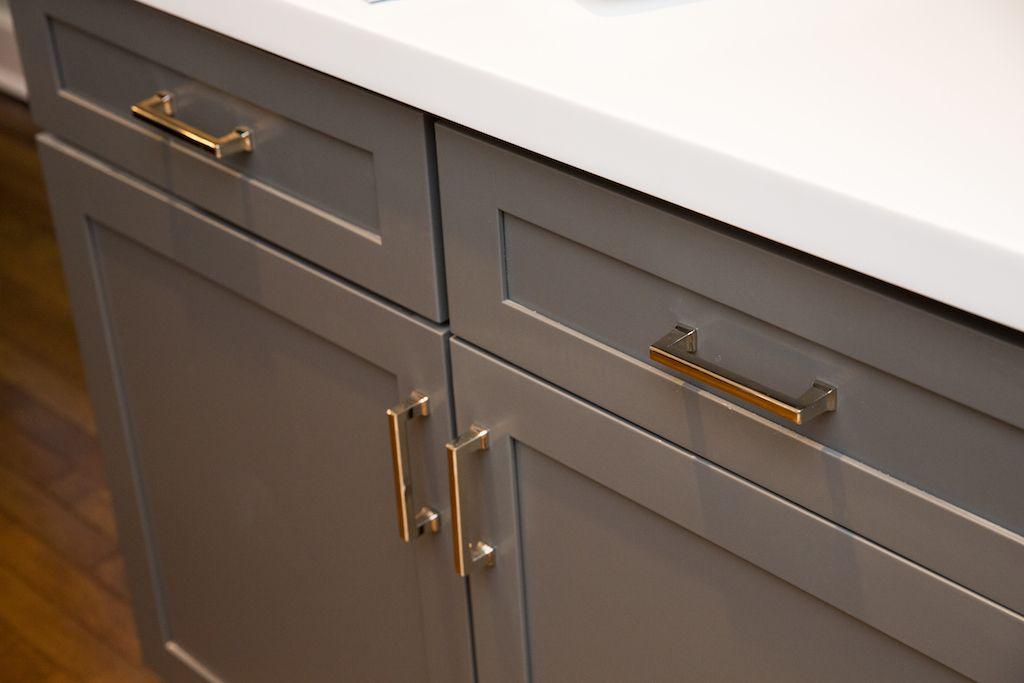 Kitchen | Cabinet Hardware - Alexander Pulls in Polished Nickel ...