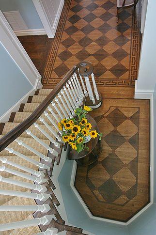 Wood Floor Wow Painted Wood Floors Painted Floors Foyer Flooring
