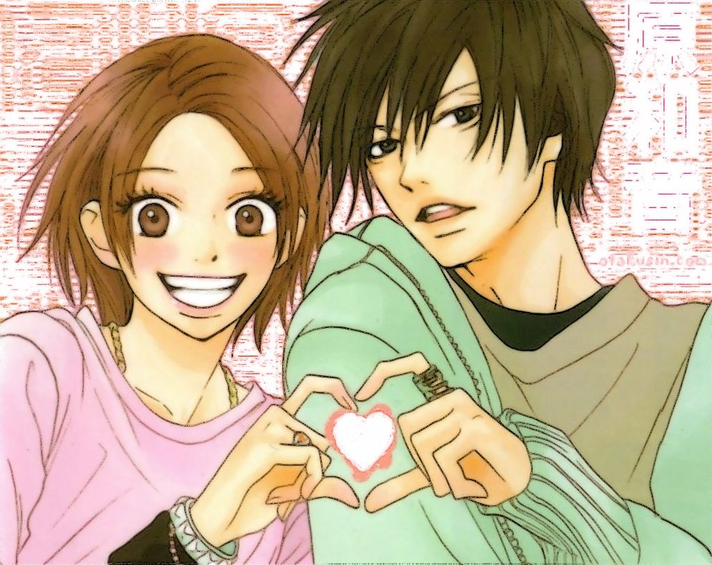 Cute anime couple hd high quality wallpaper 2327q hd - Cute anime couple pictures ...