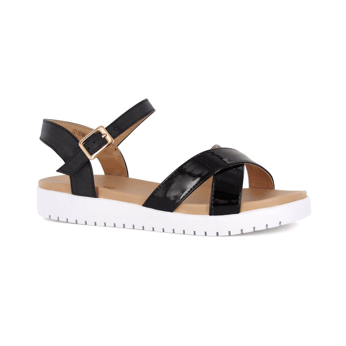 Sandales semelle plateau Noir bjw9w3V8he