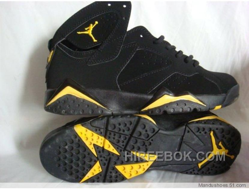 wholesale dealer 00c01 a5cae Find the Air Jordan Retro 7 Black Yellow Offres De Noël at Hireebok.com.  Enjoy free shipping and returns in worldwide.