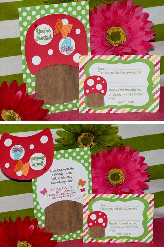 Fairy Party Invitation Garden Party DIY by AmandasPartiesToGo ...