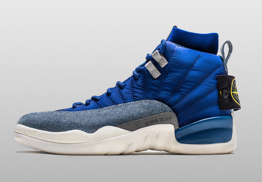 Air Jordan 12 Stone Island Custom For Drake