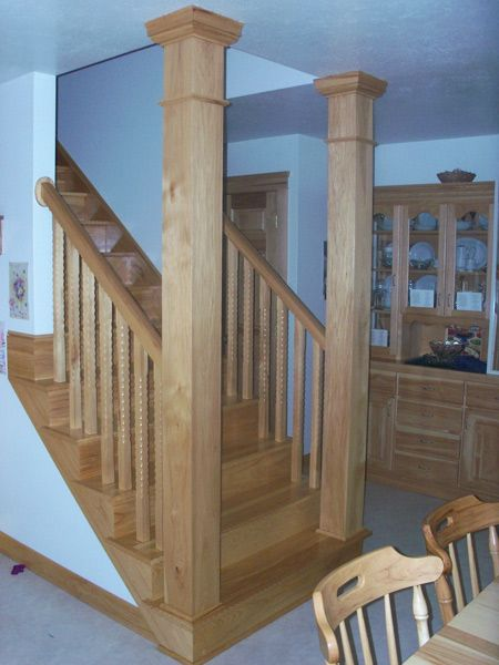 Hickory Stair Tread   Americau0027s Heaviest And Strongest Hardwood. Hickory  Has A Tan To Brown Heartwood .