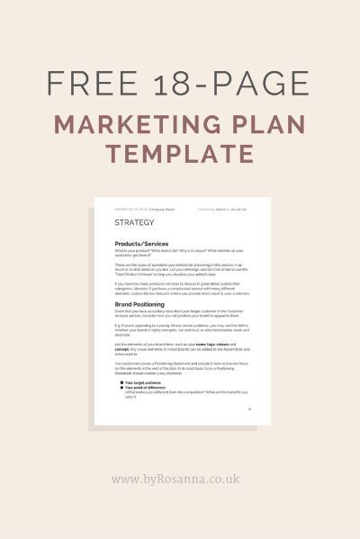 Get a FREE Marketing Plan Template See more here/   www - business plans template