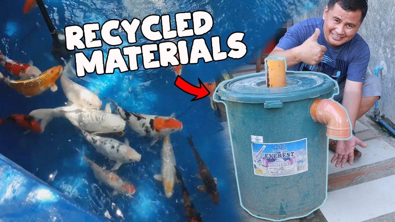 Diy mega pond filter for my outdoor pond pond filters