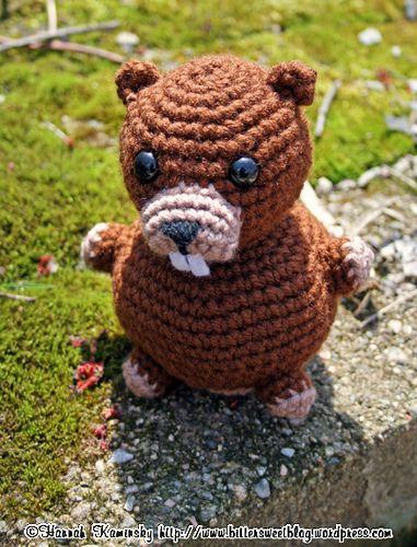 Dam*ed Beaver! | Amigurumi, Häkelanleitung und Frei