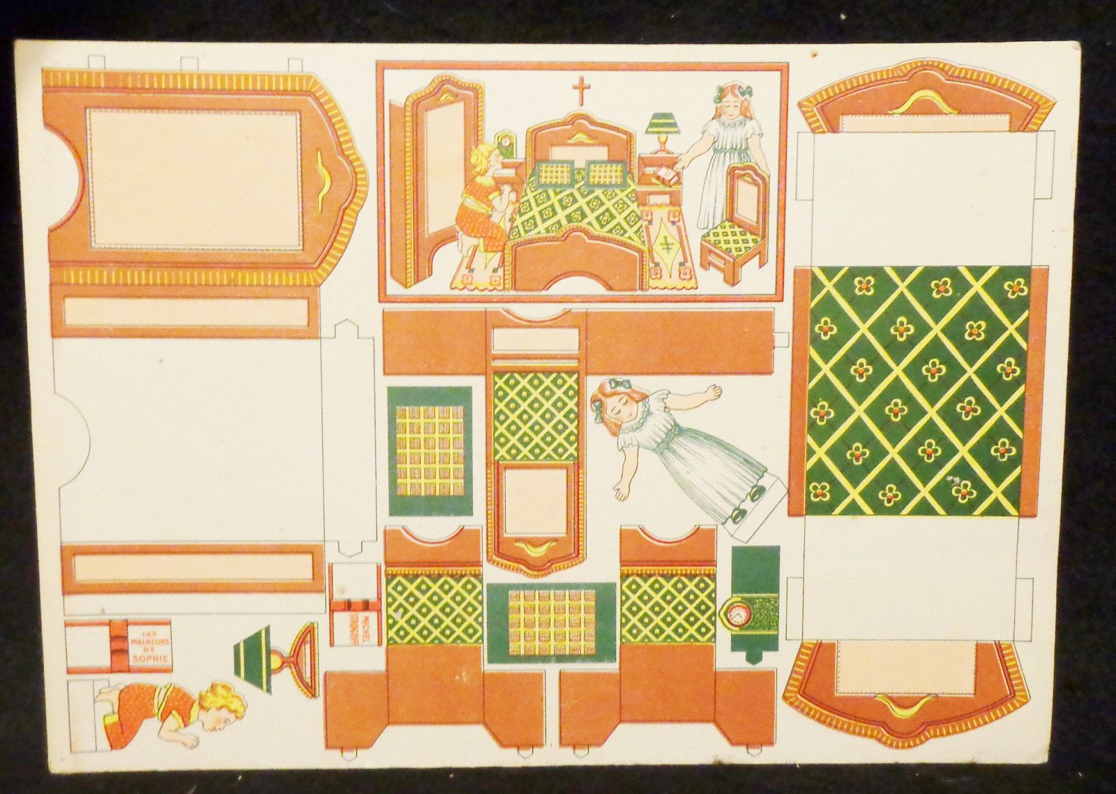 Strange Has Two Single Paper Dolls To Cut Out Has Furniture To Cut Interior Design Ideas Truasarkarijobsexamcom