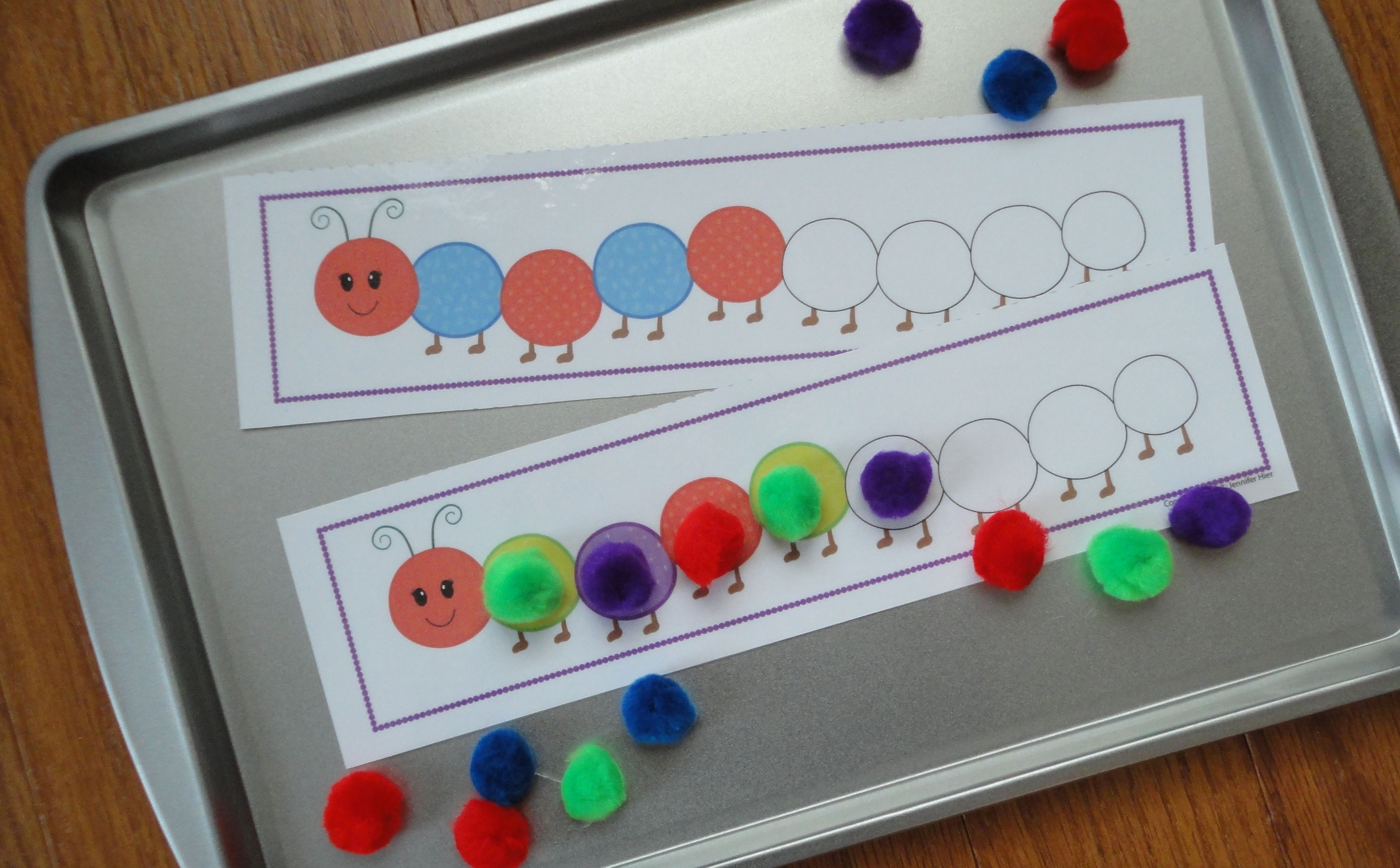 Caterpillar Pattern Activity - Interactive Patterning for ...