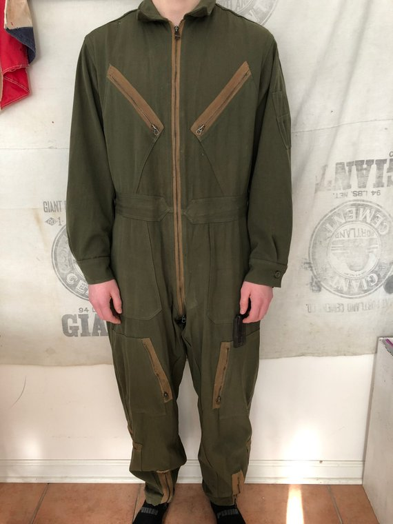 Pilots Flight Suit Aviators Coverall Flying Overralls Military Boilersuit New