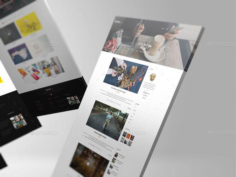 Web Showcase/ Mockup Creator Ad Mock, SPONSORED,