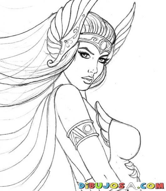 Sherashera Dibujo De Shira Para Pintar Y Colorear A Shera Hermana De