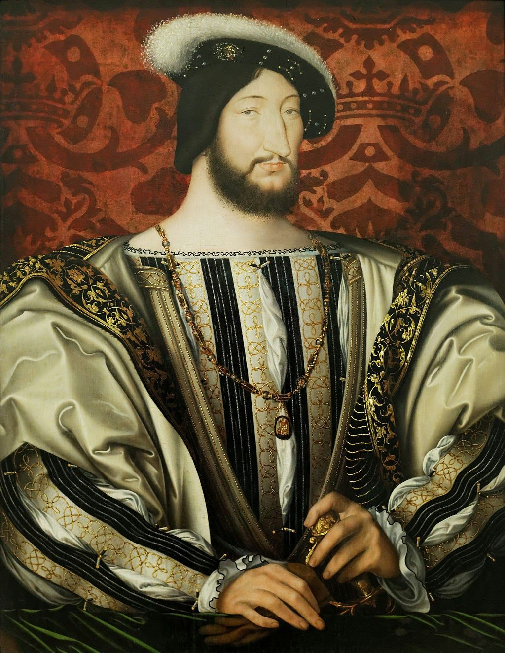 Raphael Pathé, The world's medium Francis i, Portrait