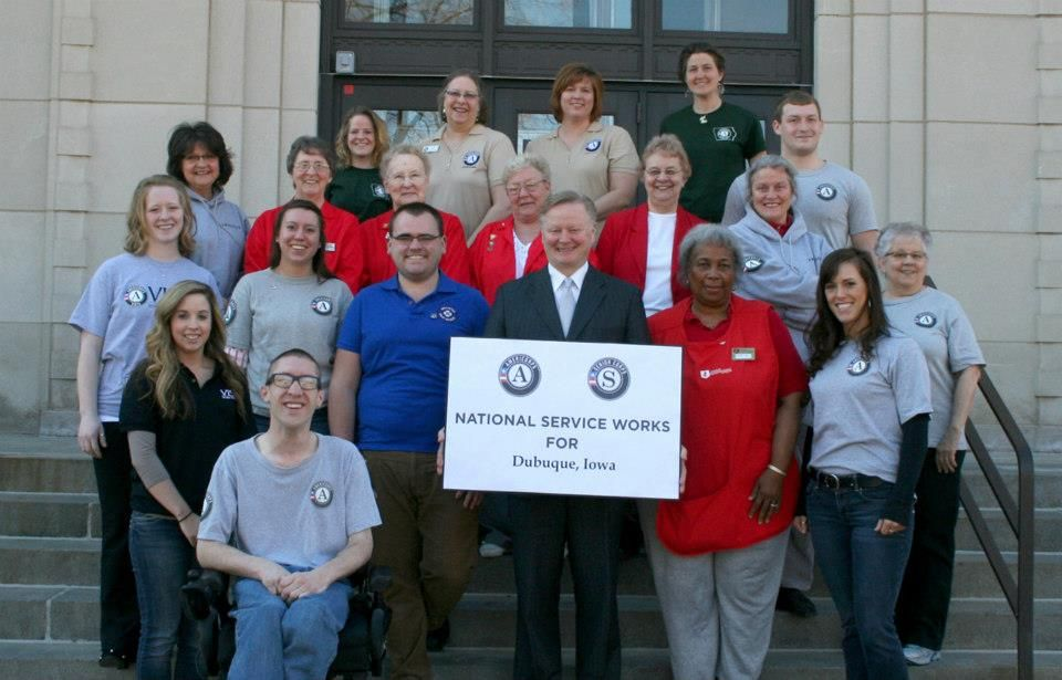 Mayors Day of Recognition for National Service Dubuque