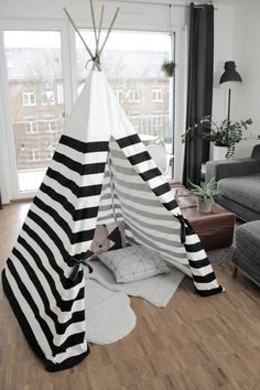 diy tipi anleitung zum selber n hen auf dem blog www. Black Bedroom Furniture Sets. Home Design Ideas