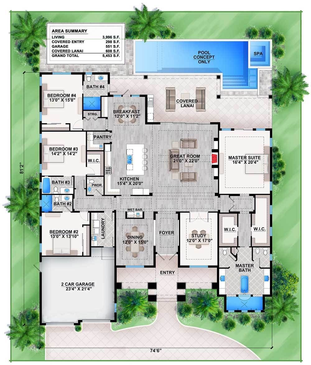 plan 86029bw florida house plan with stunning master suite plan 86029bw florida house plan with stunning master suite