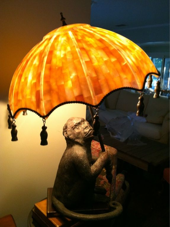 My Moms New Monkey Lamp British Colonial Style British West Indies Style Antique Lamps