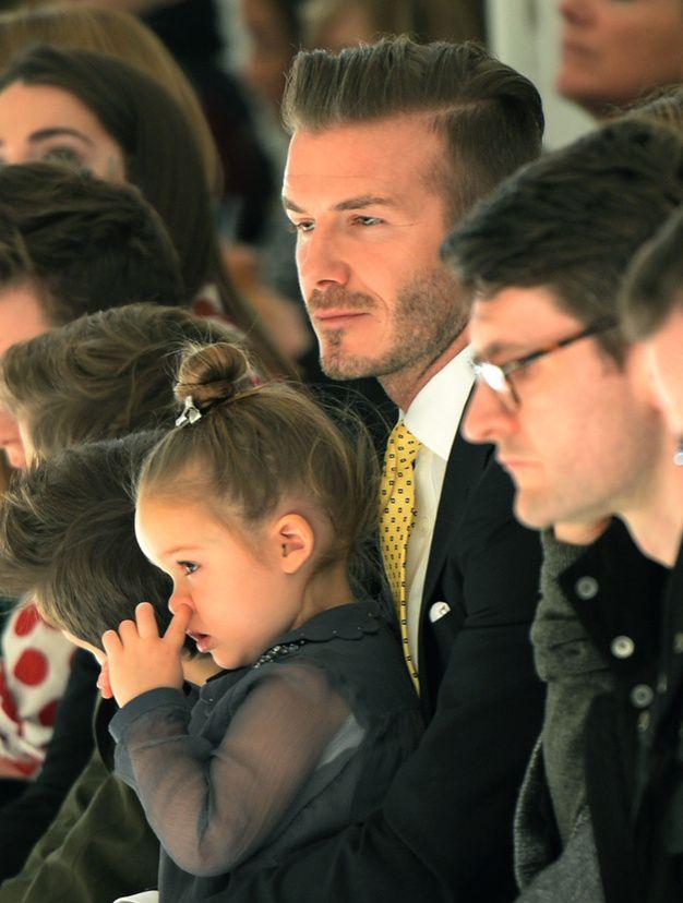 Beckham Daughter Fashion Show