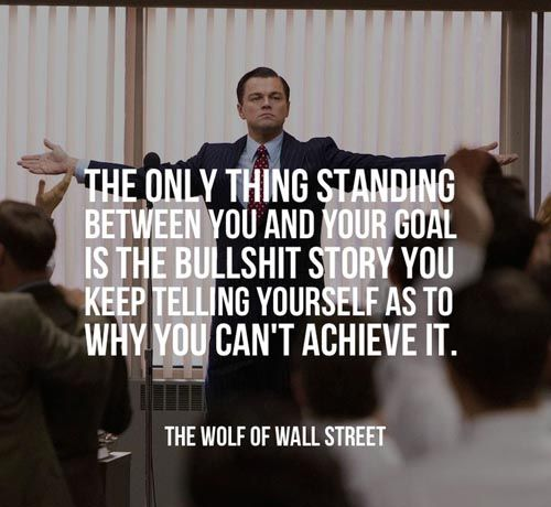 leonardo dicaprio quotes the wolf of wall street | My Favorites