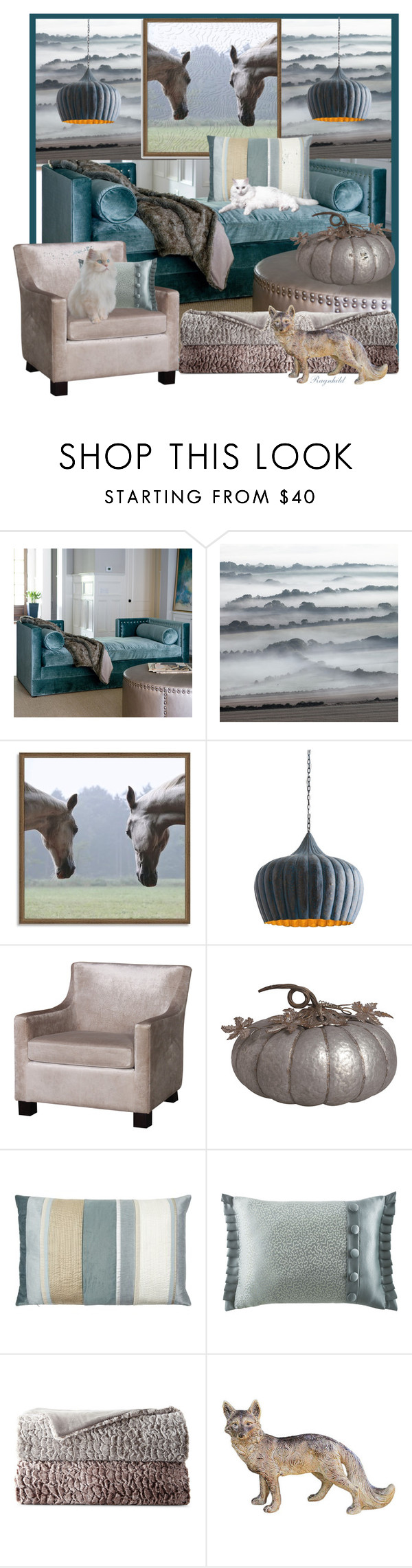 """""""Relaxing"""" by ragnh-mjos ❤ liked on Polyvore featuring interior, interiors, interior design, home, home decor, interior decorating, Regina-Andrew Design, West Elm, Arteriors and Transpac"""