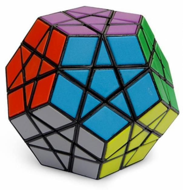 80's 12 sided rubik's cube. The original square one