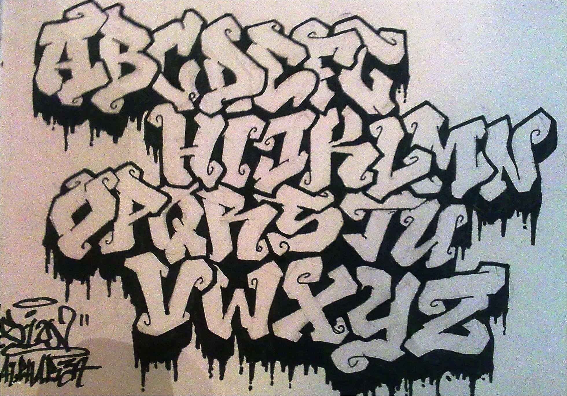 Graffiti Schrift Vorlagen Grossartig Die 6