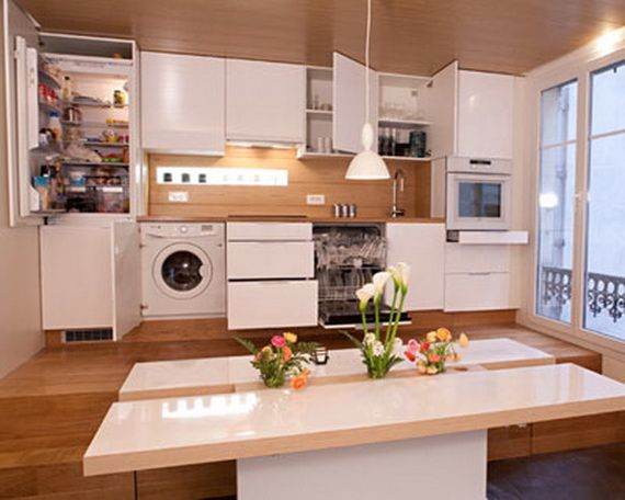 Practical Kitchen Designs for Tiny Spaces Pinterest Tiny spaces