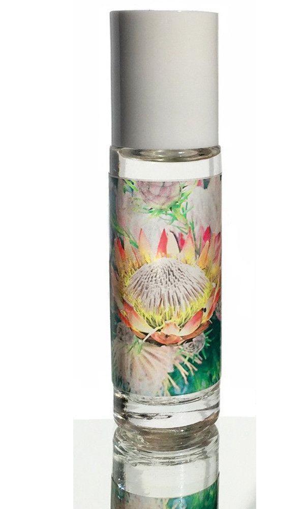 Luau Floral Acupuncture Roll On Flower Essences Vanilla Essential Oil Ginger Flower