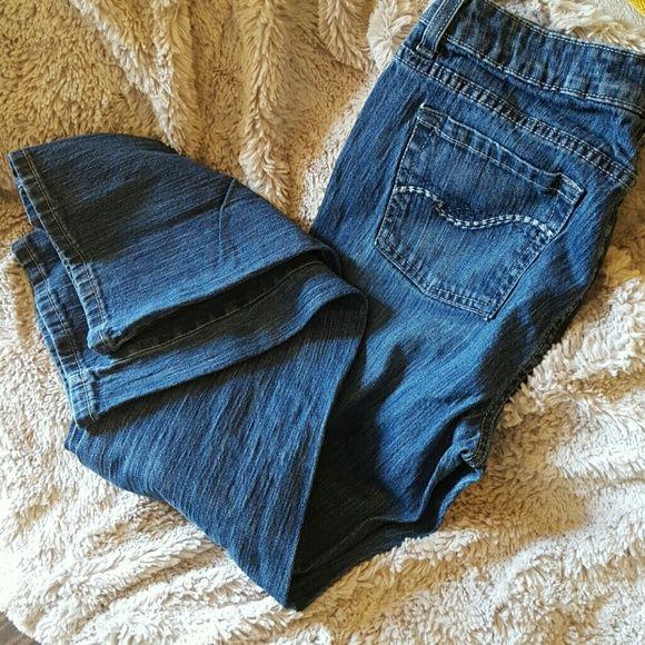 Jeans St. John's Bay boot cut petite jeans. Excellent condition St. John's Bay Jeans Boot Cut
