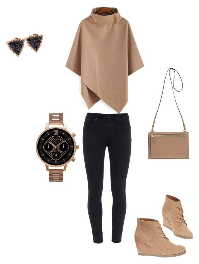 """""""Untitled #17"""" by loctawhacoste ❤ liked on Polyvore featuring beauty, Paige Denim, Madden Girl, Topshop and Kismet"""