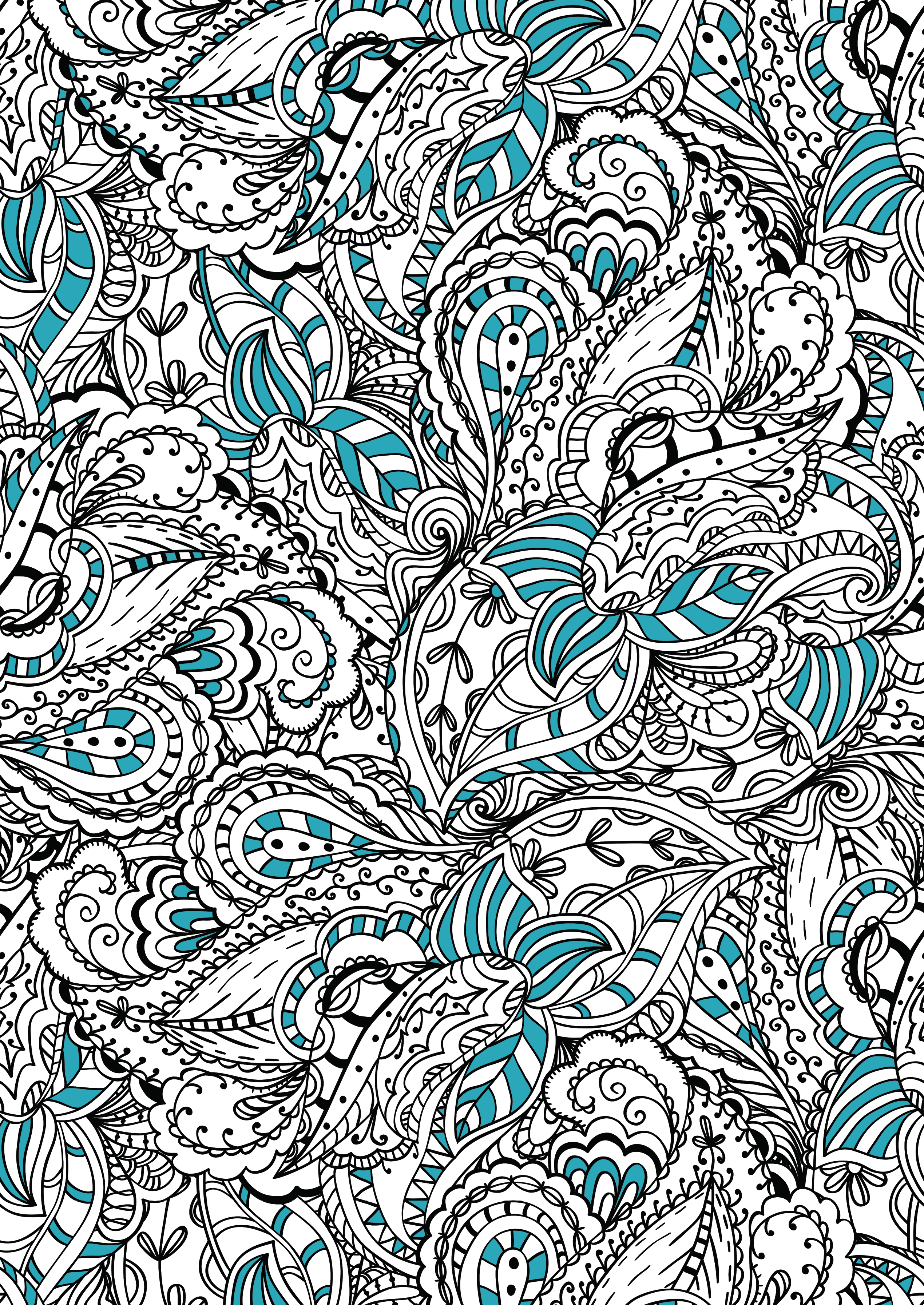 Art Therapy Colouring Book Free Fox Pattern Download Whsmith Blog Art Therapy Coloring Book Coloring Book Art Coloring Books