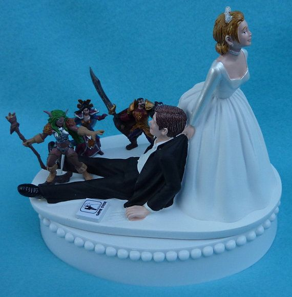 wow wedding cake topper wedding cake topper world of warcraft wow 2 27659
