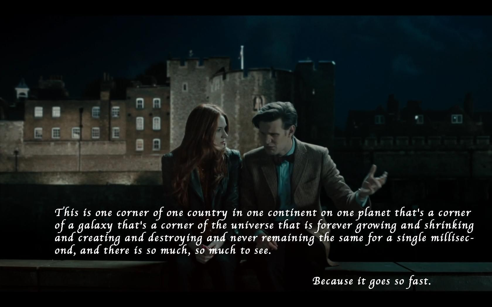 Doctor Who Quote Wallpapers