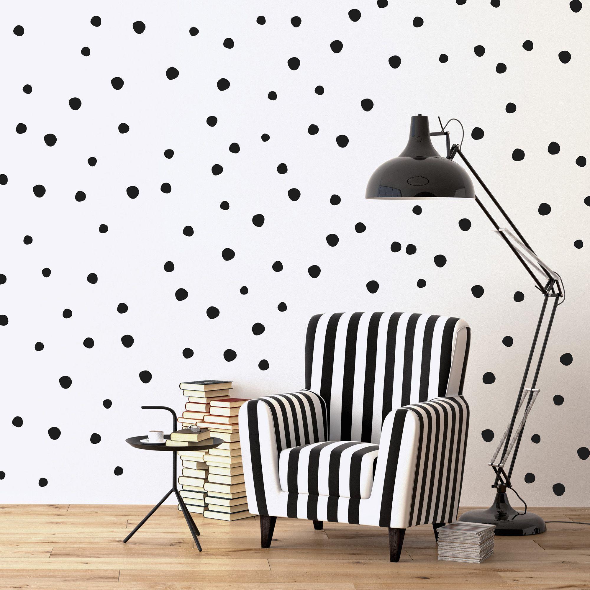 Irregular Polka Dots Wall Decals Polka Dot Walls Wall Stickers Polka Dots Kitchen Wall Decals