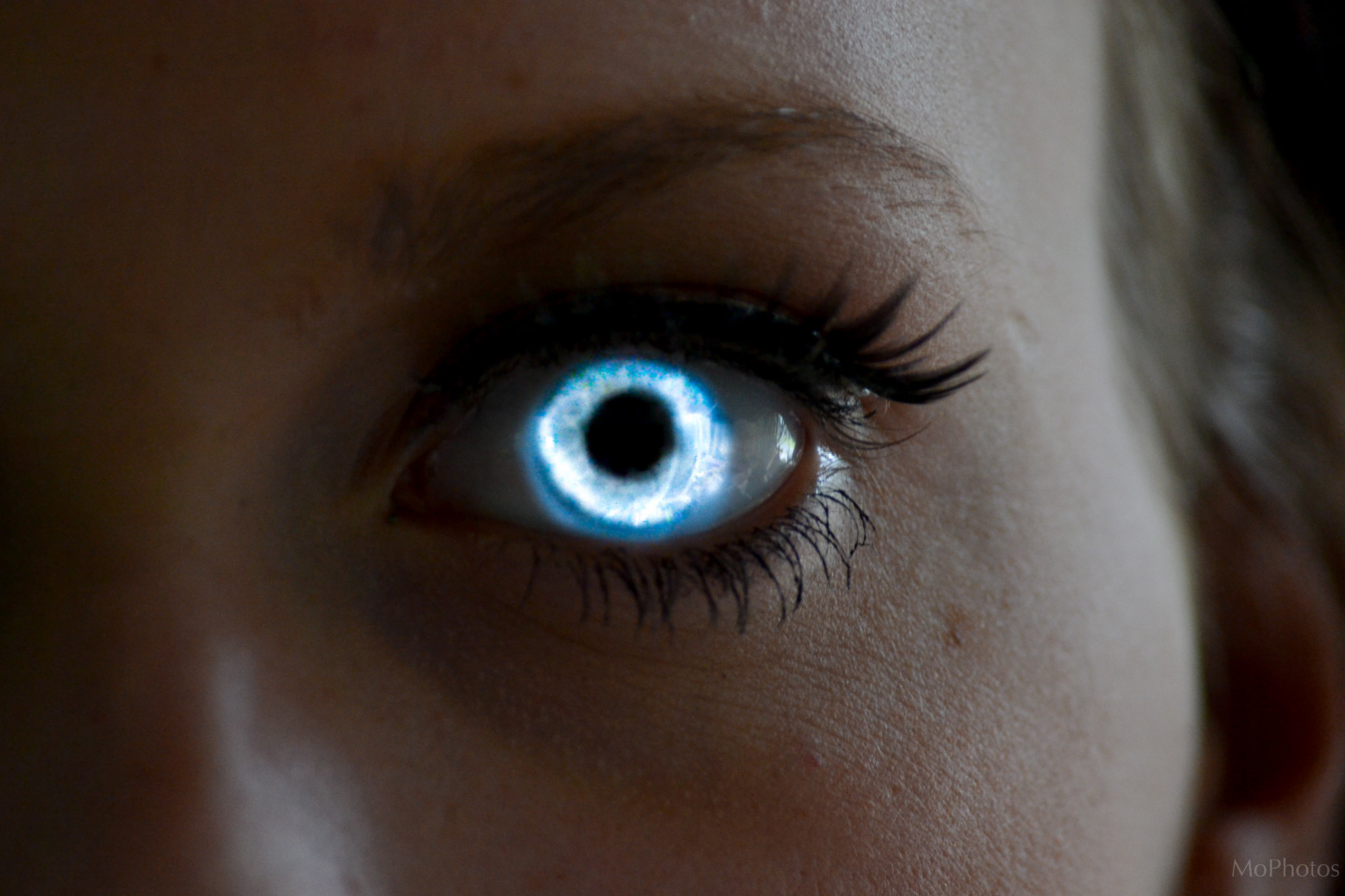 Sara Glowing Eye Aesthetic Eyes Cool Eyes Magic Eyes