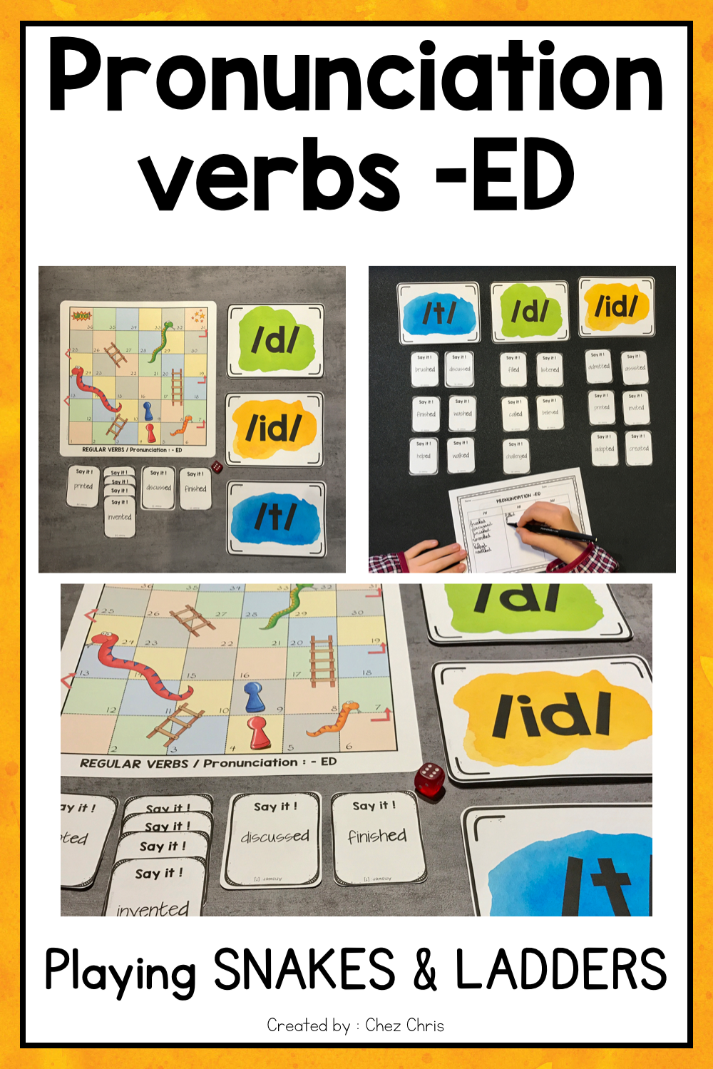 Pronouncing The Ending Ed Is Always Difficult For Esl Students With This Game The Teaching English Language Learners Esl Teaching Resources Learning Methods [ 1499 x 1000 Pixel ]
