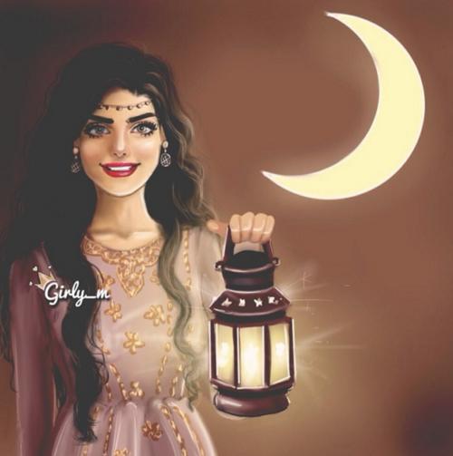 رمضان رمزيات بنات رسومات Girly Art Girly Pictures Fashion Drawing Sketches
