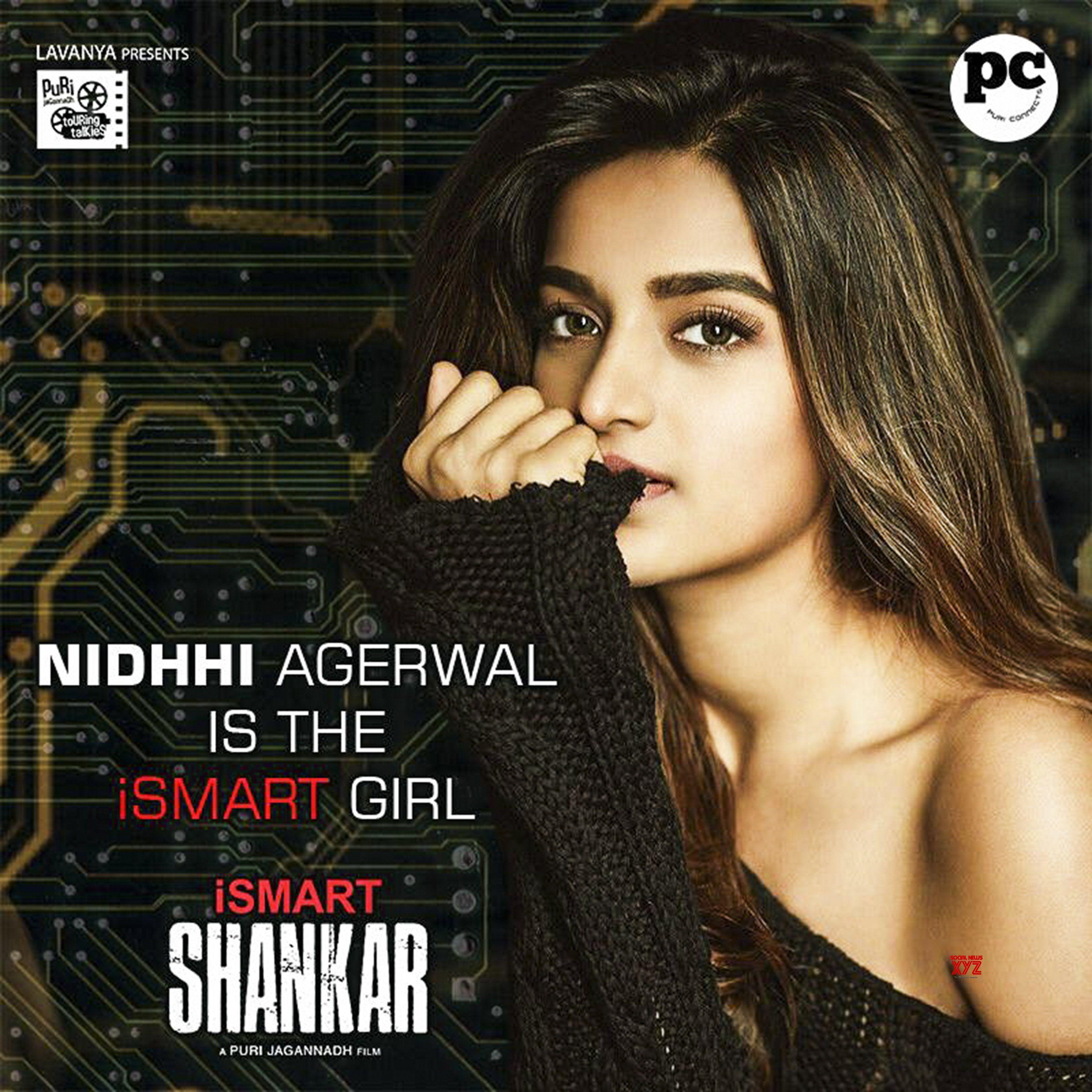 Nidhhi Agerwal In ISmart Shankar HD Poster | Social News XYZ