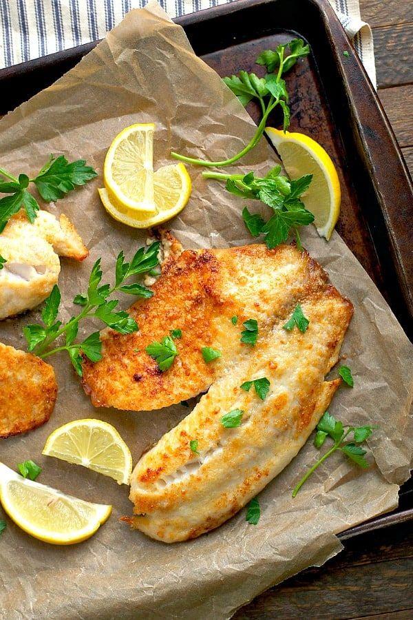 Photo of 5-Ingredient Garlic Parmesan Tilapia