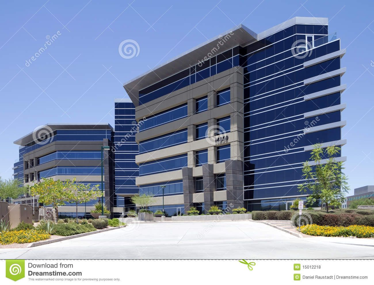 New modern corporate office building exterior royalty free - Small office building exterior design ideas ...