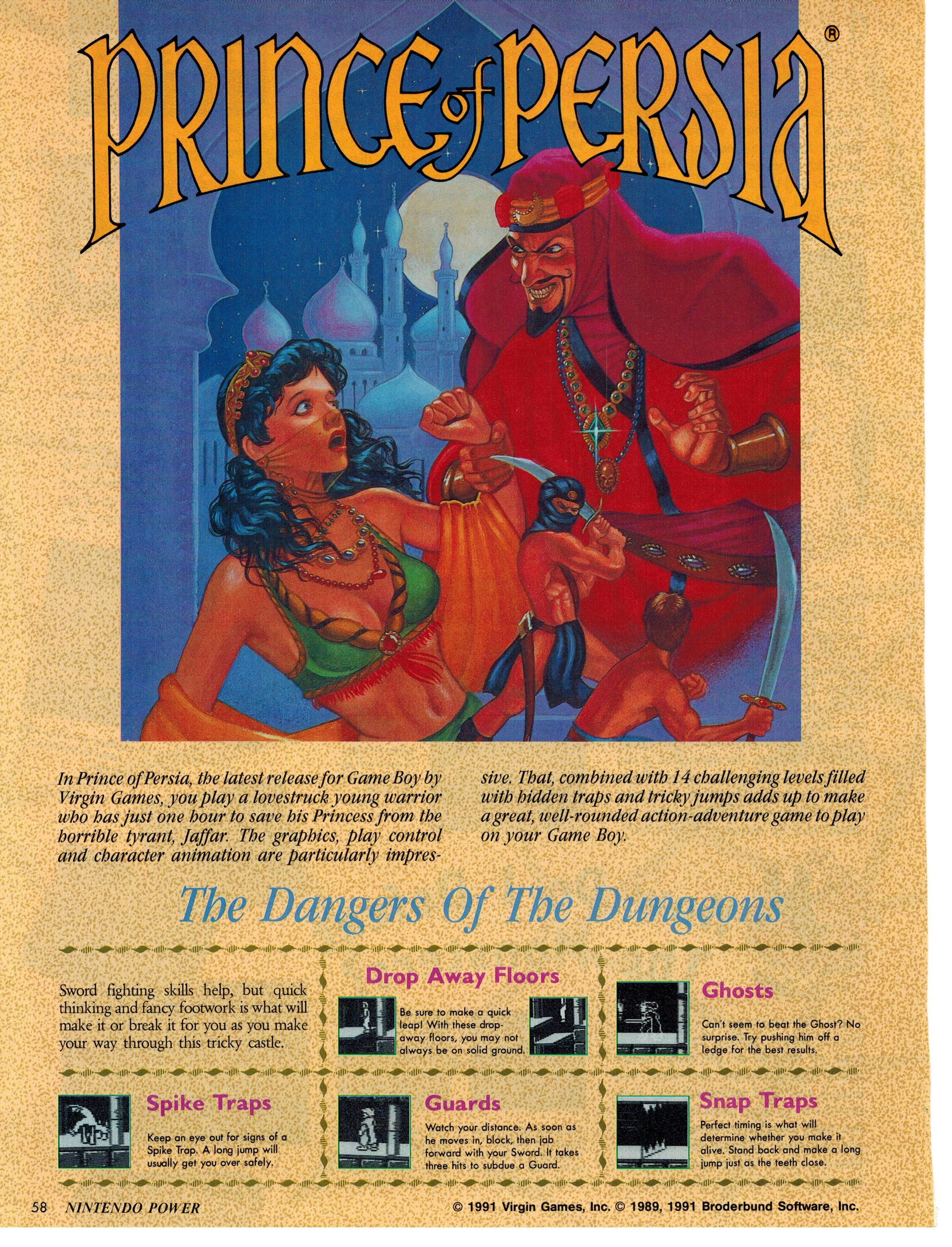 Prince Of Persia Nintendo Power Pg 1 Of 4 Video Game Music Classic Video Games Best Spotify Playlists