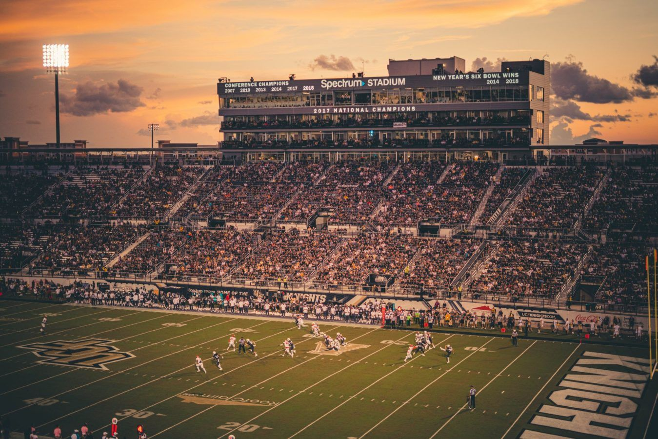 Ucf Exploring Potential Spectrum Stadium Expansion Football Stadium Digest University Of Central Florida Explore Stadium