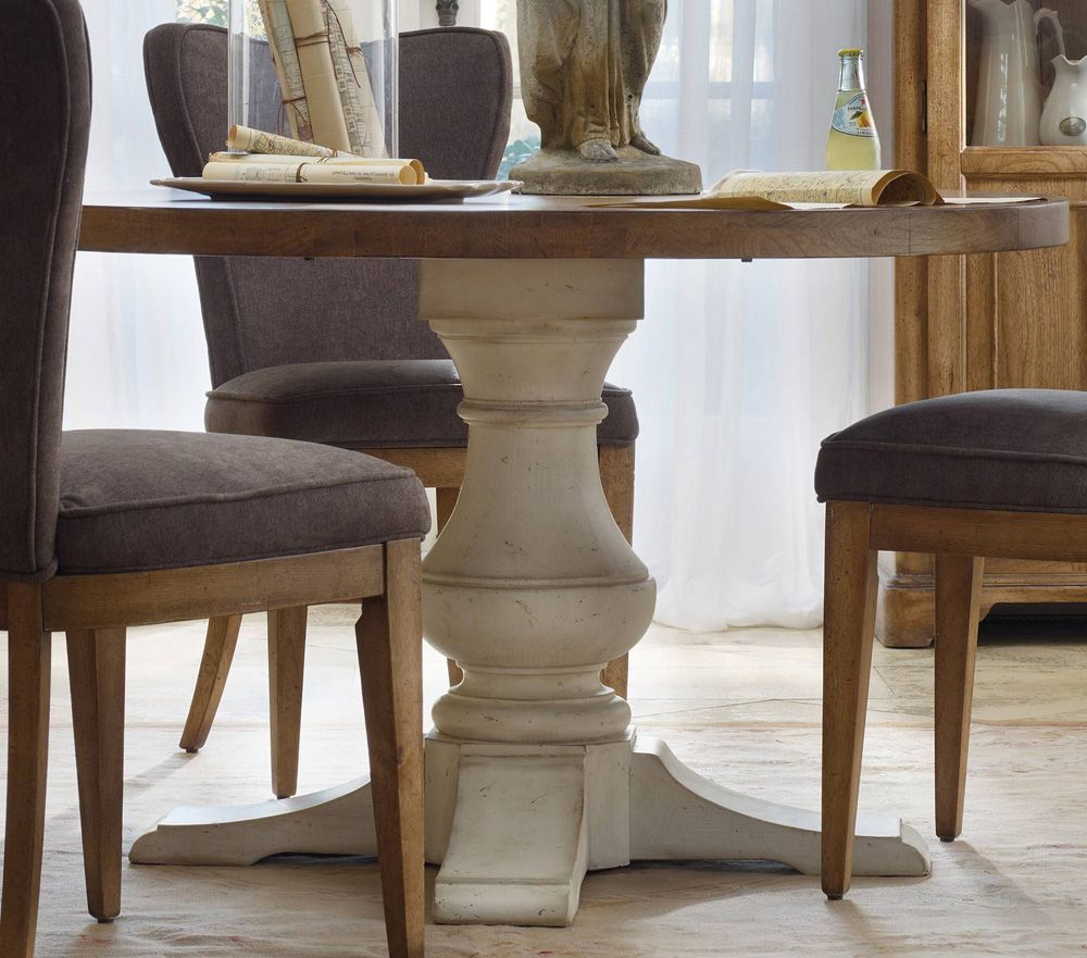 Favorite Rustic Round Pedestal Dining Table - Dining room ideas ZM15