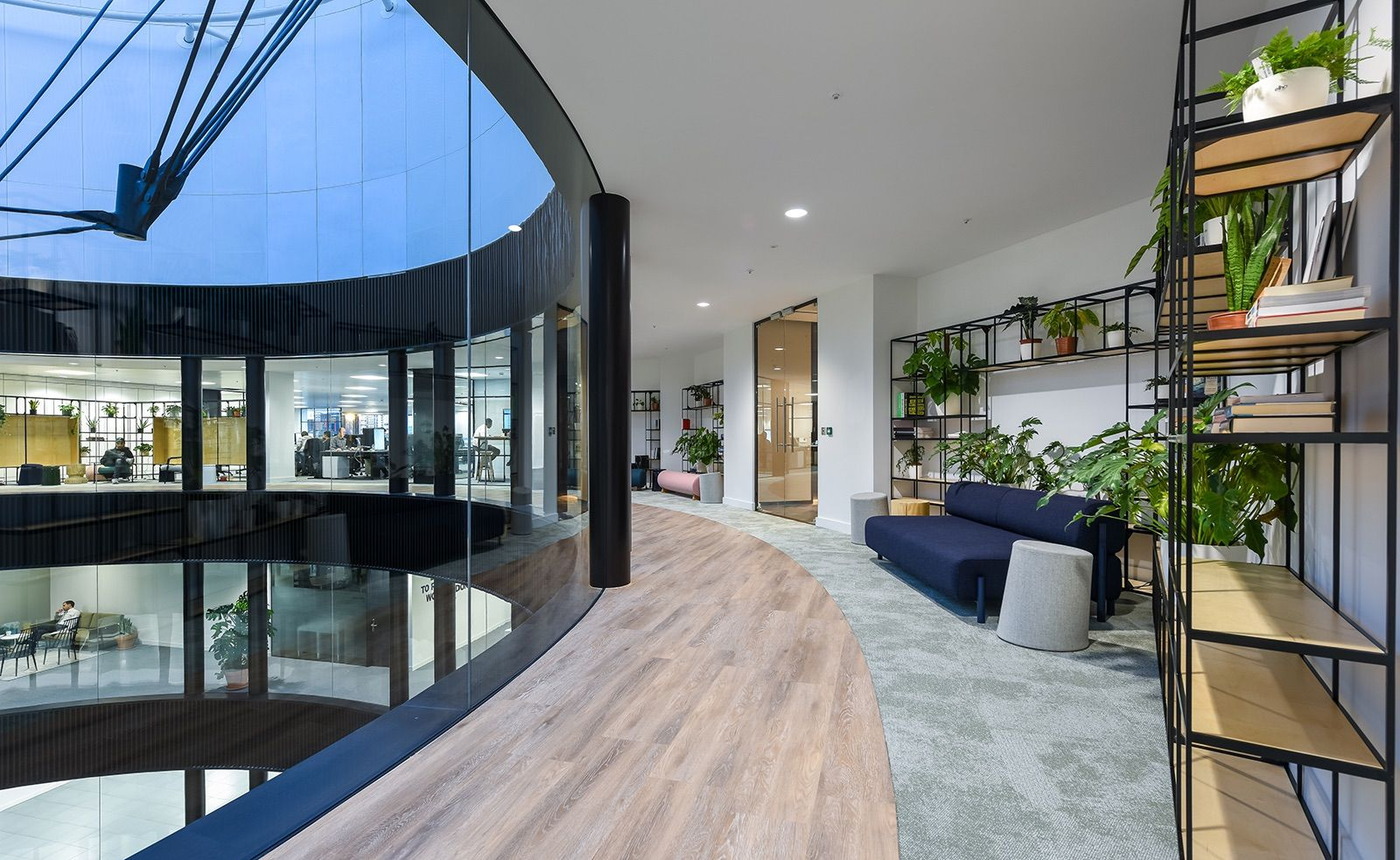 A Peek Inside Lyst's Modern London Office | Interior ...