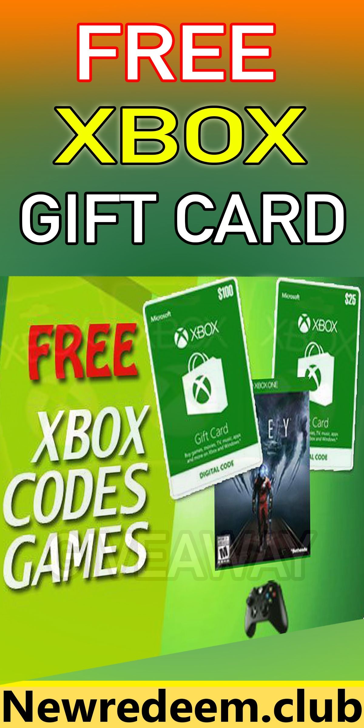 Photo of Free Xbox gift cards generator! Get a $100 Xbox gift card free!!!!
