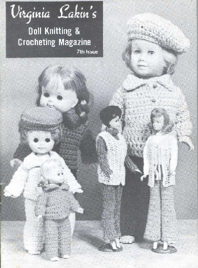 Sewing for Crissy - All kinds of vintage doll patterns for various doll sizes, to sew and for needle crafting.