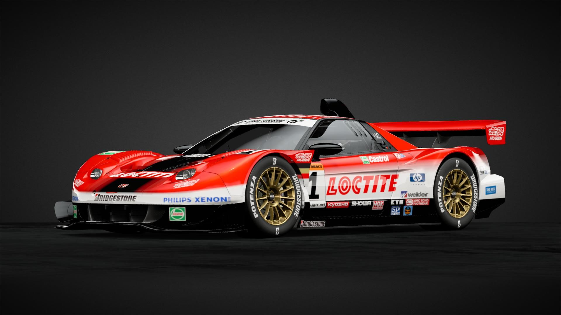Loctite Mugen Nsx 01 Jgtc Car Livery By Daveyboyessex Community Gran Turismo Sport In 2020 Nsx Car Dream Cars